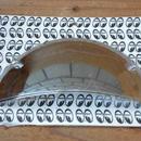ヘッド ライト ハーフ シールド丸2灯用 2枚1セット AA134L