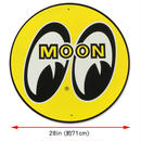 MOON スチール サイン ラージ & スタンダード MG723YELS
