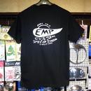 エンプティーズ オリジナルTシャツ Sサイズ スペイシーカー ブラック×ホワイト