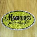 MOONEYES Oval ステッカー DM168YE