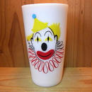 ミルクガラス Hazel Atlas Clown Tumbler