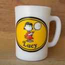ミルクガラス AVON Lucy