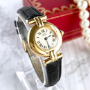 Cartier カルティエ マストコリゼ レザーベルト レディース 腕時計