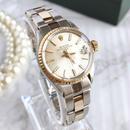 ROLEX ロレックス K18ベゼル オイスター  デイト コンビ 腕時計
