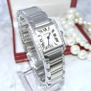 Cartier カルティエ タンク フランセーズ 天然ダイヤモンド25P  レディース 腕時計