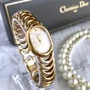 Christian Dior ディオール ロングラウンドフェイス レディース 腕時計