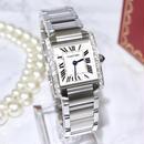 Cartier カルティエ フランセーズ 天然ダイヤモンド 腕時計