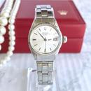ROLEX ロレックス K18ベゼル オイスター デイト 腕時計