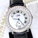 Cartier カルティエ マストロンド ベルト2色付 ダイヤモンド シルバー 腕時計