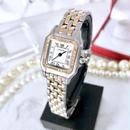 Cartier カルティエ パンテール SM コンビ ダイヤモンド 33P  クォーツ  レディース 腕時計