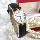 Cartier カルティエ ヴァンドーム K18金無垢 トリニティカラー 腕時計