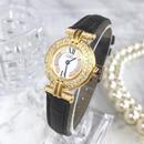 Cartier カルティエ マストコゼ  天然ダイヤモン ド レザーベルト  トリニティ 腕時計
