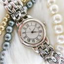 YSLイヴサンローラン シルバー 文字盤ホワイト 腕時計