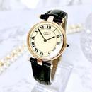 Cartier カルティエ マスト ヴァンドーム OH済み ベルト2種付き クォーツ レディース 腕時計
