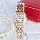 Cartier カルティエ パンテール  天然ダイヤモンド PG 腕時計