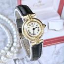 Cartier カルティエ  40P 天然ダイヤモンド マスト コリゼ クォーツ レディース 腕時計