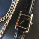 Cartier カルティエ タンク ブラック 腕時計