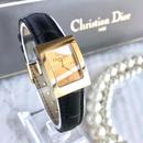 Christian Dior ディオール スクエアフェイス ゴールド レディース 腕時計