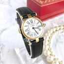Cartier カルティエ オパラン ヴァンドーム  レザーベルト 腕時計