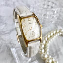 HAMILTON ハミルトン スクエアフェイス レザーベルト2色付き 腕時計