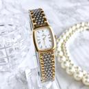 OMEGA オメガ ジュネーブ ホワイト文字盤 クォーツ 腕時計