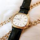 OMEGAオメガ スクエアフェイス K18GP 腕時計