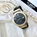 HUBLOT ウブロ クラシック コンビ クロコ型押しレザーベルト クォーツ レディース 腕時計