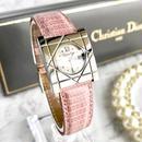 Christian Dior ディオール スクエアフェイス クォーツ レディース 腕時計