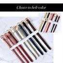 新品 Lether Belt レザーベルト 各種カラー・サイズ有 レディース 腕時計