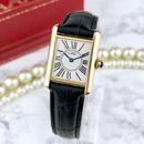 Cartier カルティエ タンク オパラン ベルト2色付 Dバックル 腕時計