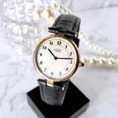 Cartier カルティエ OH済み ヴァンドーム  ベルト2色付き シャンパンゴールド文字盤 クォーツ レディース 腕時計