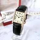 Cartier カルティエ マストタンク 34P 天然ダイヤモンド クォーツ レディース 腕時計
