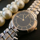 YSLイヴサンローラン ゴールドコンビSSベルト  腕時計