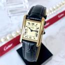 Cartier カルティエ タンク ベルト2色付き K18YGGP 腕時計