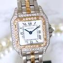 Cartier カルティエ パンテール SM コンビ ダイヤモンド 95P コンビ  腕時計