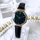 YSL イヴ・サンローラン ベルト2種付 ブラック文字盤  腕時計