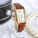 HAMILTON ハミルトン スクエアフェイス レディース 腕時計