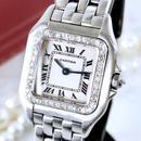 Cartier カルティエ パンテール SM ダイヤモンド33P クォーツ レディース 腕時計