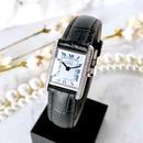 Cartier カルティエ タンク 30P 高級天然ダイヤモンド シルバー クォーツ レディース 腕時計