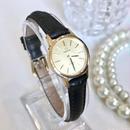 OMEGA オメガ デビル ラウンドフェイス 手巻き レディース 腕時計