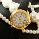 YSLイヴサンローラン ラウンド ボーイズサイズ 腕時計