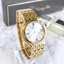 Christian Dior ディオール ホワイト文字盤 レディース 腕時計