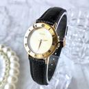 GUCCI グッチ K18YG GP ベルト2種付き ローマンインデックス クォーツ レディース 腕時計
