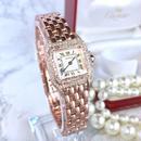 Cartier カルティエ パンテール  天然ダイヤモンド  95P 二重ダイヤ SM 腕時計