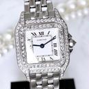 Cartier カルティエ パンテール SM ダイヤモンド 95P 腕時計