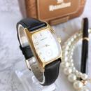 HAMILTON ハミルトン スクエアフェイス ゴールド ベルト2色付き 腕時計