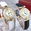 Cartier カルティエ マストコリゼ 天然ダイヤモンド 70P  ベルト2色付き レディース 腕時計