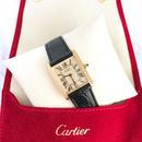 Cartier カルティエ マスト タンク 型押しベルト 腕時計