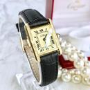 Cartier カルティエ タンク 天然ダイヤモンド 30P  レディース 腕時計