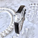 OMEGA オメガ K18WG GP カットガラス 2種ベルト付き 手巻き レディース 腕時計